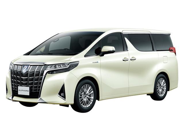 トヨタ アルファード 2018年10月〜モデル