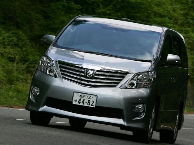 トヨタ アルファード 2011年11月〜モデル