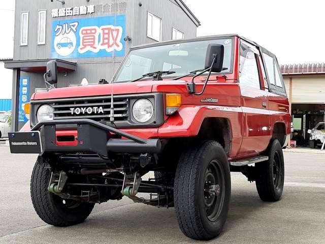 ランドクルーザー70 3.5 STD 幌タイプ ディーゼル 4WD AARセミバケット 公認足回り