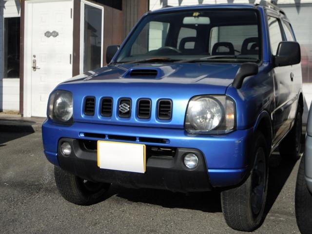 ジムニー 660 XG 4WD ターボ オートマ 社外HID キーレス