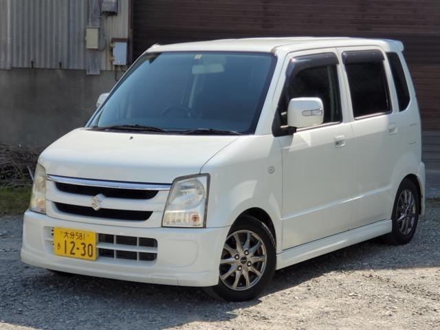 ワゴンR 660 FX-S リミテッド シートカバー 革巻ハンドル ダウンサス
