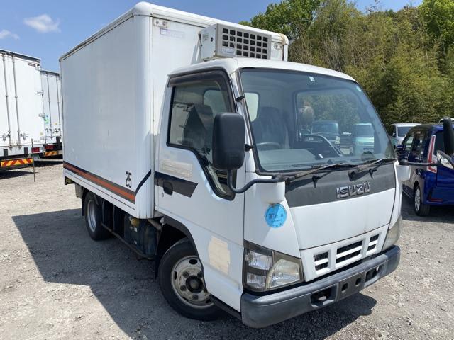エルフ 冷蔵冷凍車 ETC バックモニター エンジン型式4HL1