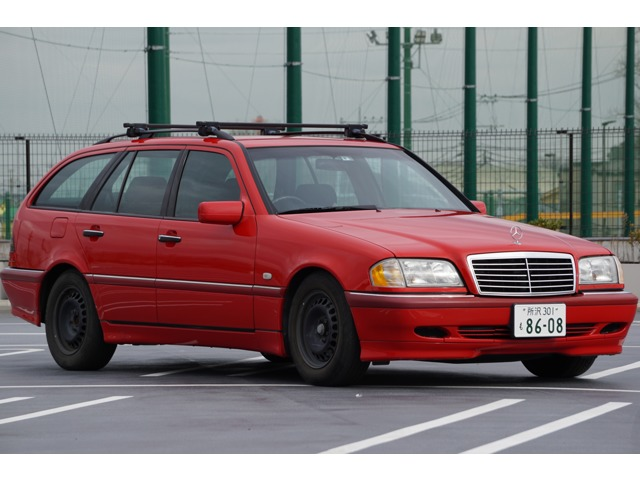 Cクラスワゴン C240 BILSTEIN REMUSマフラー 警告灯無 長車検