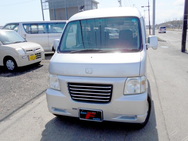 バモスホビオ 660 L 4WD タイベル交換済