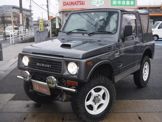 ジムニー 660 バン HC 4WD 2名 リフトアップ リビルトエンジン交換済