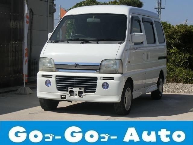 エブリイワゴン 660 ジョイポップターボ 4WD エアロ キーレス 車検2年 法定整備付
