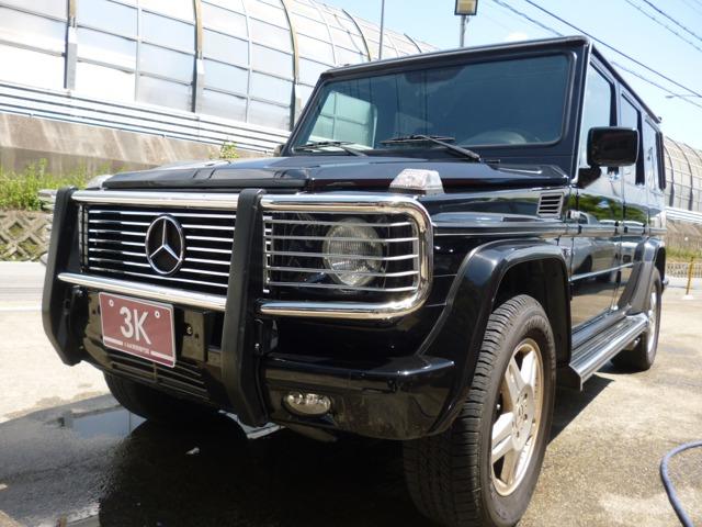 Gクラス G500 ロング 4WD 左ハンドル/7人乗り/サンルーフ/ナビTV
