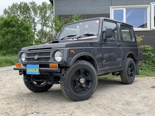 ジムニー 660 バン HA 4WD 夏冬タイヤホイル付