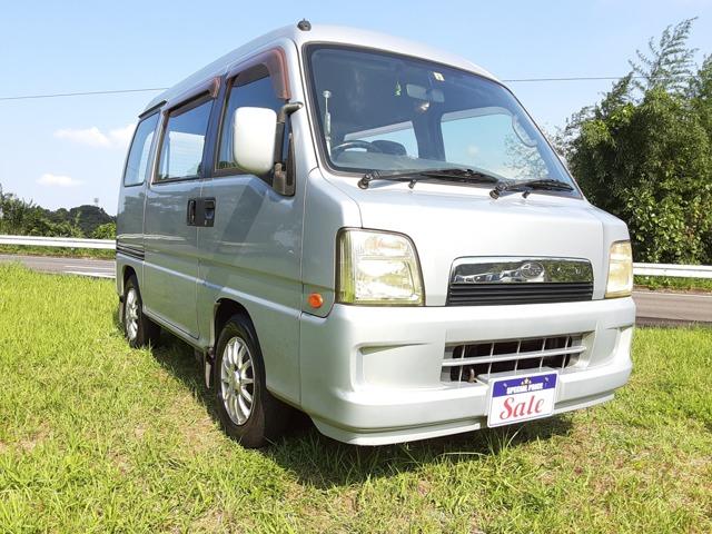 サンバーディアスワゴン 660 社外CDデッキ/キーレス