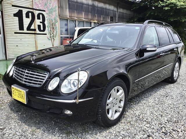 Eクラスワゴン E240 車検4/10 整備記録簿 コート済 新タイヤ