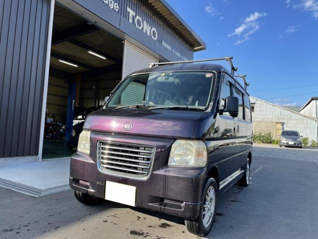 バモスホビオ 660 M 4WD 車検整備付 CD アルミホイール