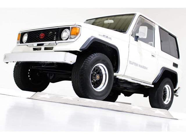 ランドクルーザー70 2.4 LX5 ディーゼルターボ 4WD タイベル交換済 フリーハブ 社外15インチAW