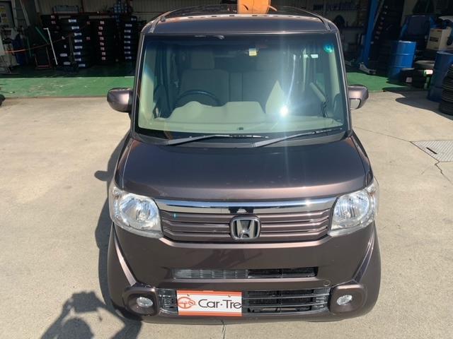 N-BOX 660 G 4WD 車検整備2年実施 カーナビバックカメラ付