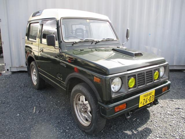 ジムニー 550 インタークーラーターボ パノラミックルーフ 4WD