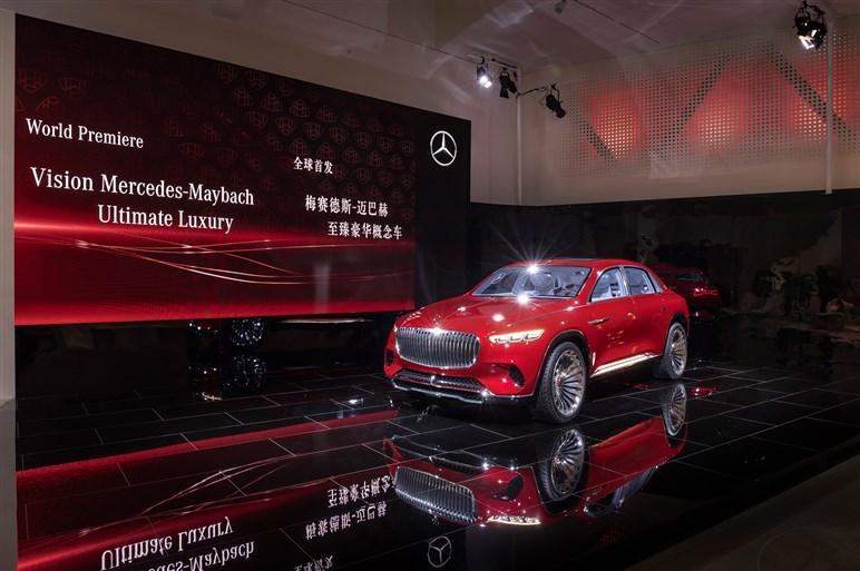 メルセデス-マイバッハ、超高級クロスオーバーのコンセプトカーを世界初披露