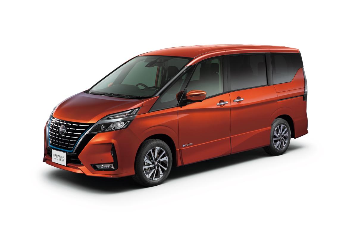 日産 新型セレナが360°セーフティアシストを全車標準化 へ 239万9760円から