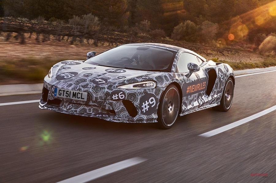 マクラーレンの新型GTをキャッチ 独自性の強いデザイン、新シリーズ