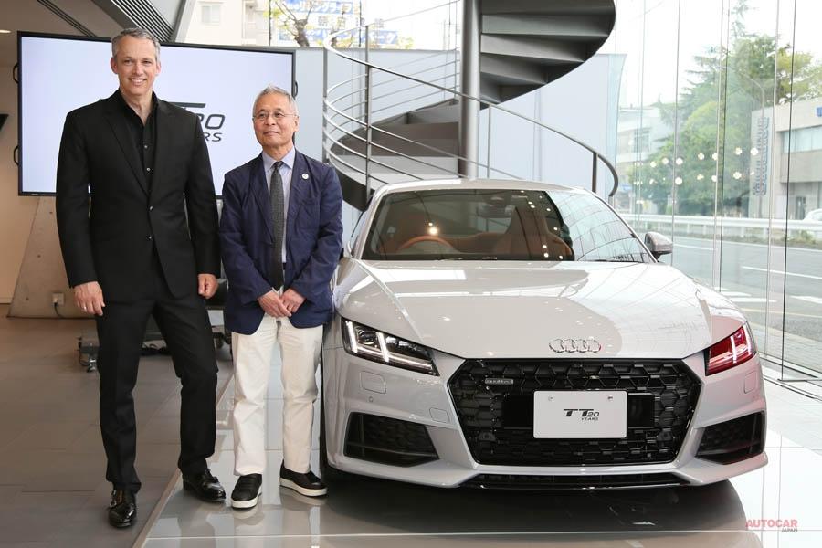 アウディTTマイナーチェンジ 全車2ℓ化 20周年記念限定車も 479万円~