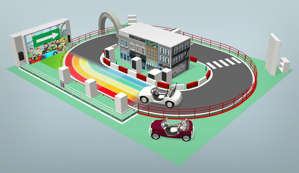 子供が運転できるミニカー! 2019年の東京おもちゃショーにトヨタ「Camatte」が登場