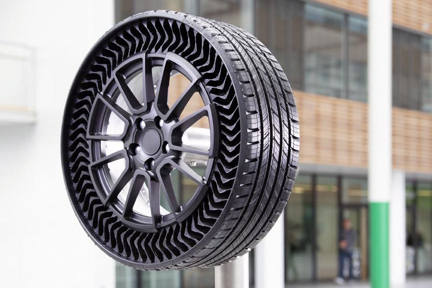 ミシュラン 乗用車向けのエアレスタイヤを2024年に販売予定