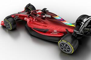 新規則下の2022年F1マシン、2020年中の開発を凍結へ。コスト削減が目的か