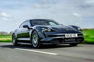 【高速域でも息切れ知らず】ポルシェ・タイカン・ターボへ試乗 EVの新基準