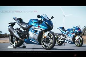 スズキ「GSX-R1000R」特別色を公開 MotoGPマシン「GSX-RR」そっくりのカラーで登場