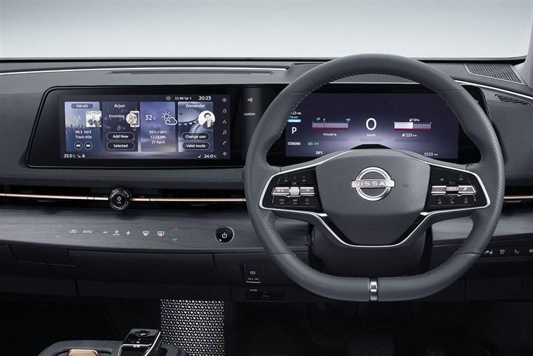 世界初公開された日産の次世代EV「アリア」はハイテク満載、500万円オーバーのプレミアムSUVだった
