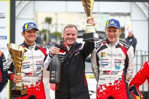 WRC:トミ・マキネン、ラリーGB制したタナクを絶賛。「すべてにおいてうまくやっている」