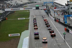 DTM第9戦ホッケンハイム:アウディ勢が表彰台独占で有終の美。GT500勢は雨中で苦戦