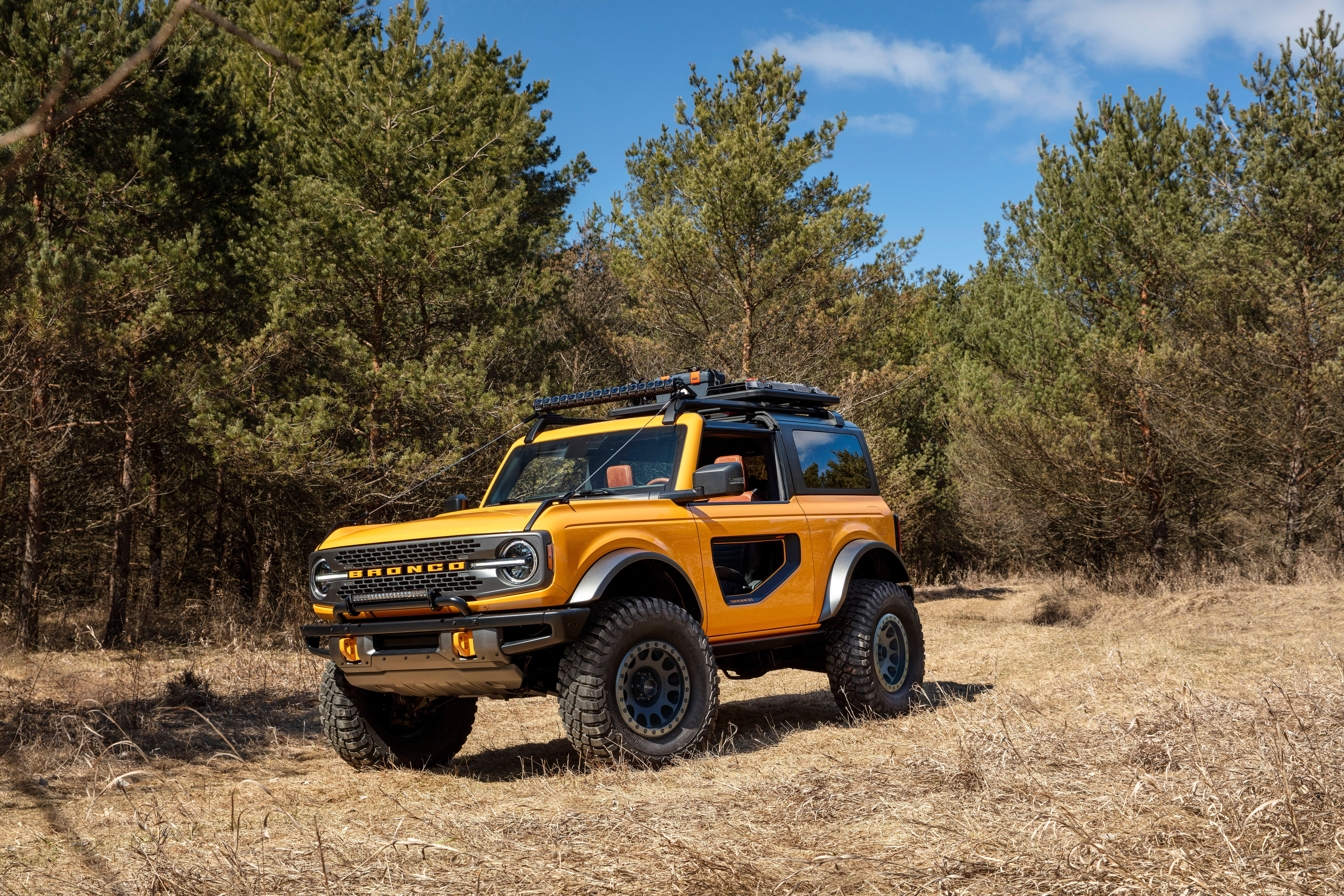 新型フォード・ブロンコがついにデビュー!