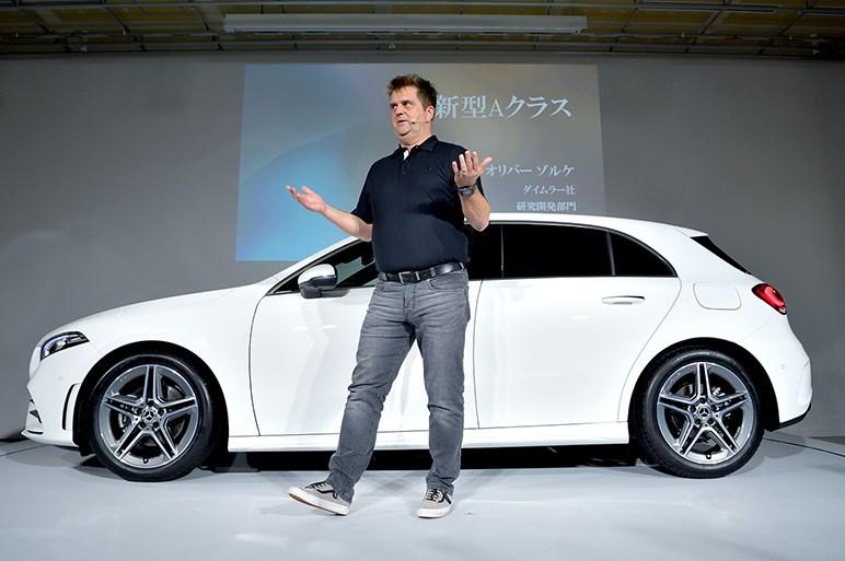 メルセデス新型Aクラスは322万円から。「ハイ、メルセデス」を試してほしい