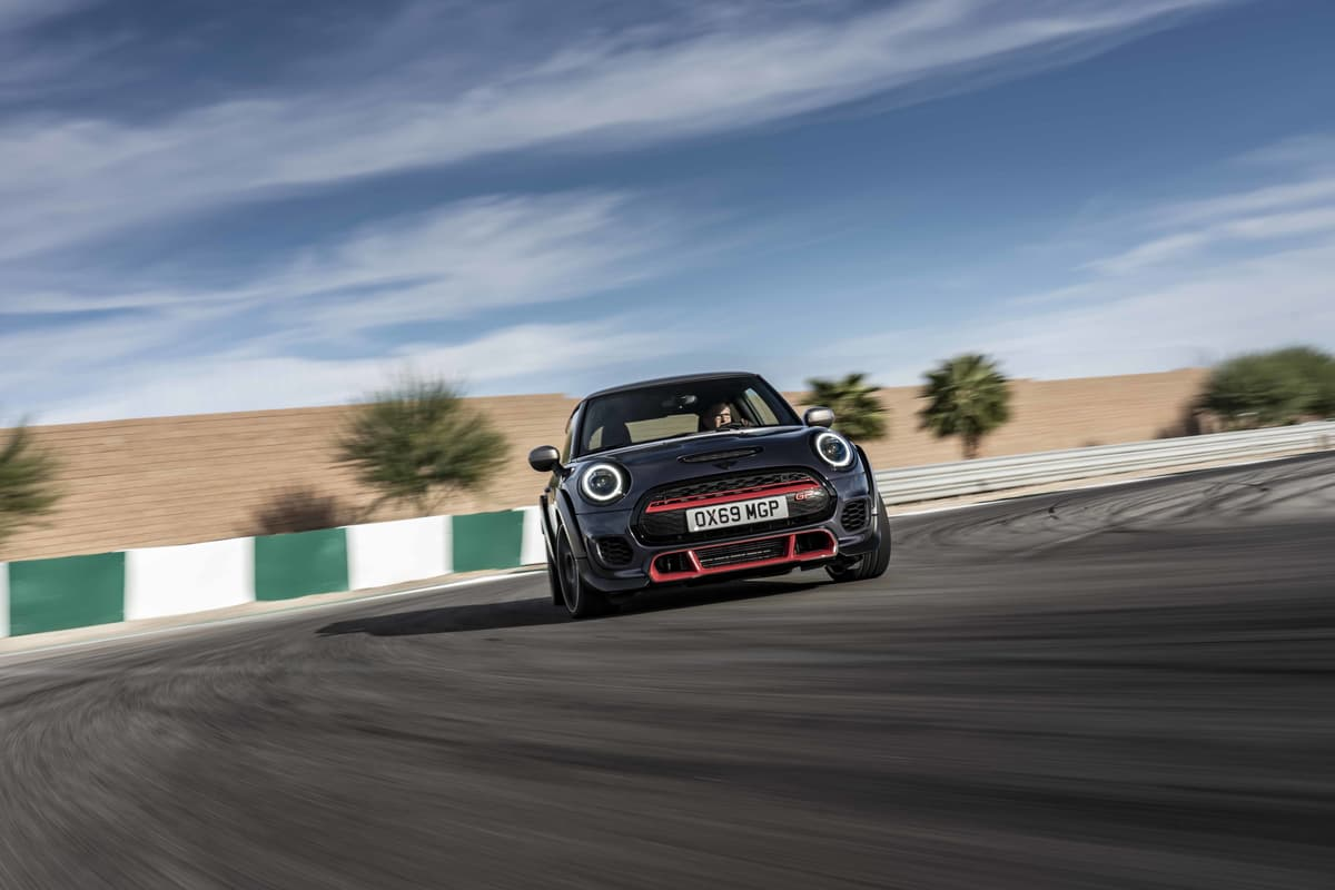 日本限定240台!306psのミニ史上最速モデル「ジョンクーパーワークスGP」登場