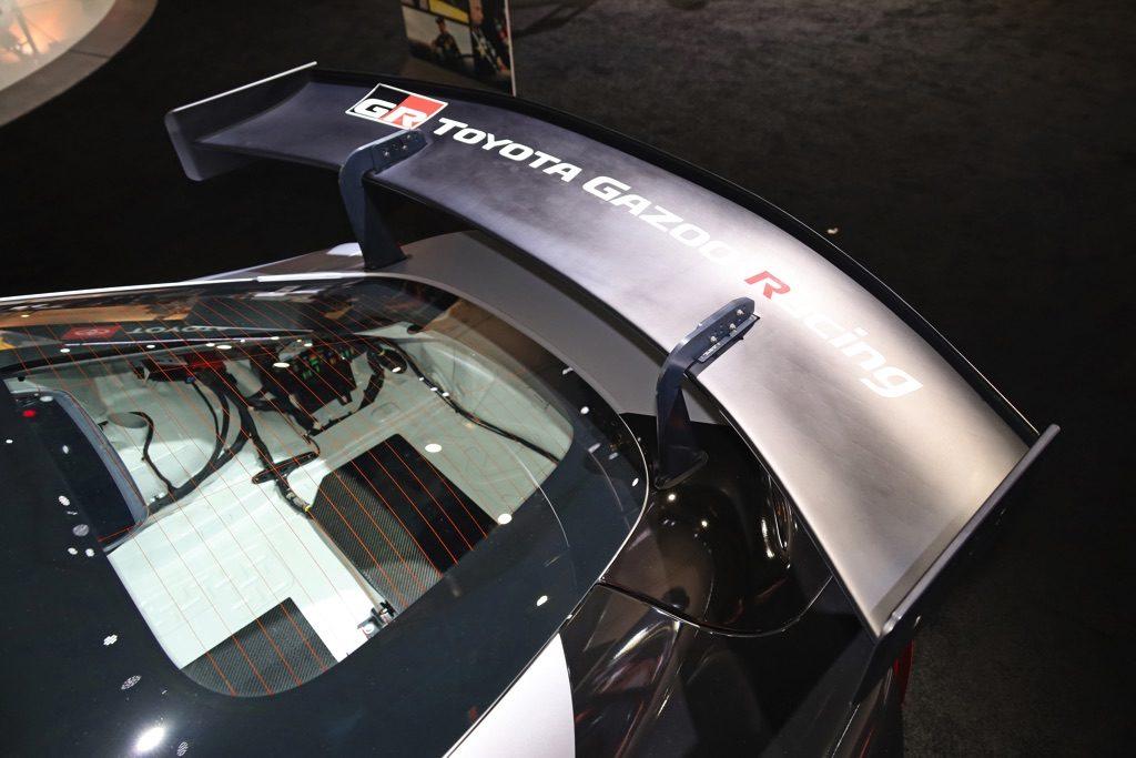 「GRスープラはレース車両もトルコンATなのね・・・」FIA GT4コンセプト登場!【SEMA SHOW2019】
