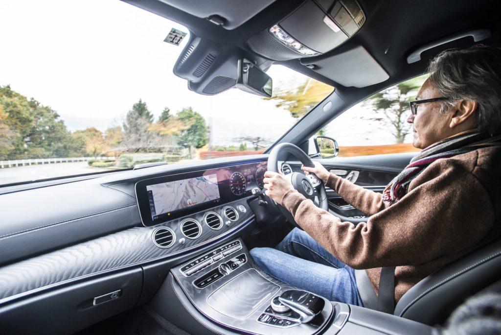本邦初のディーゼルPHEV「メルセデス・ベンツ E 350 de」に乗って渡辺慎太郎が感心した理由
