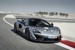 「マクラーレン620R」570S GT4レーシングカーの最新バージョンを発表 、予想価格3750万円から