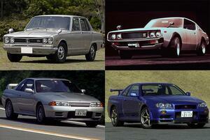 5世代すべてが絶対王者のスカイラインGT-Rに挑み続けたライバル車たち