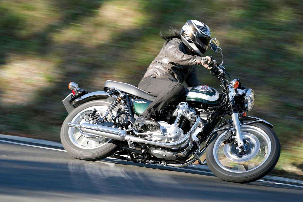 〈試乗インプレ〉カワサキ「W800」/スタイル、走りともに「原点回帰」したWの王道