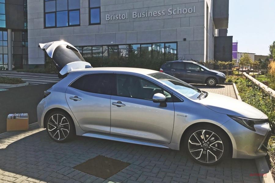 【BMWから乗り換えたドライバー】トヨタ・カローラ(4) 強みは燃費 長期テスト