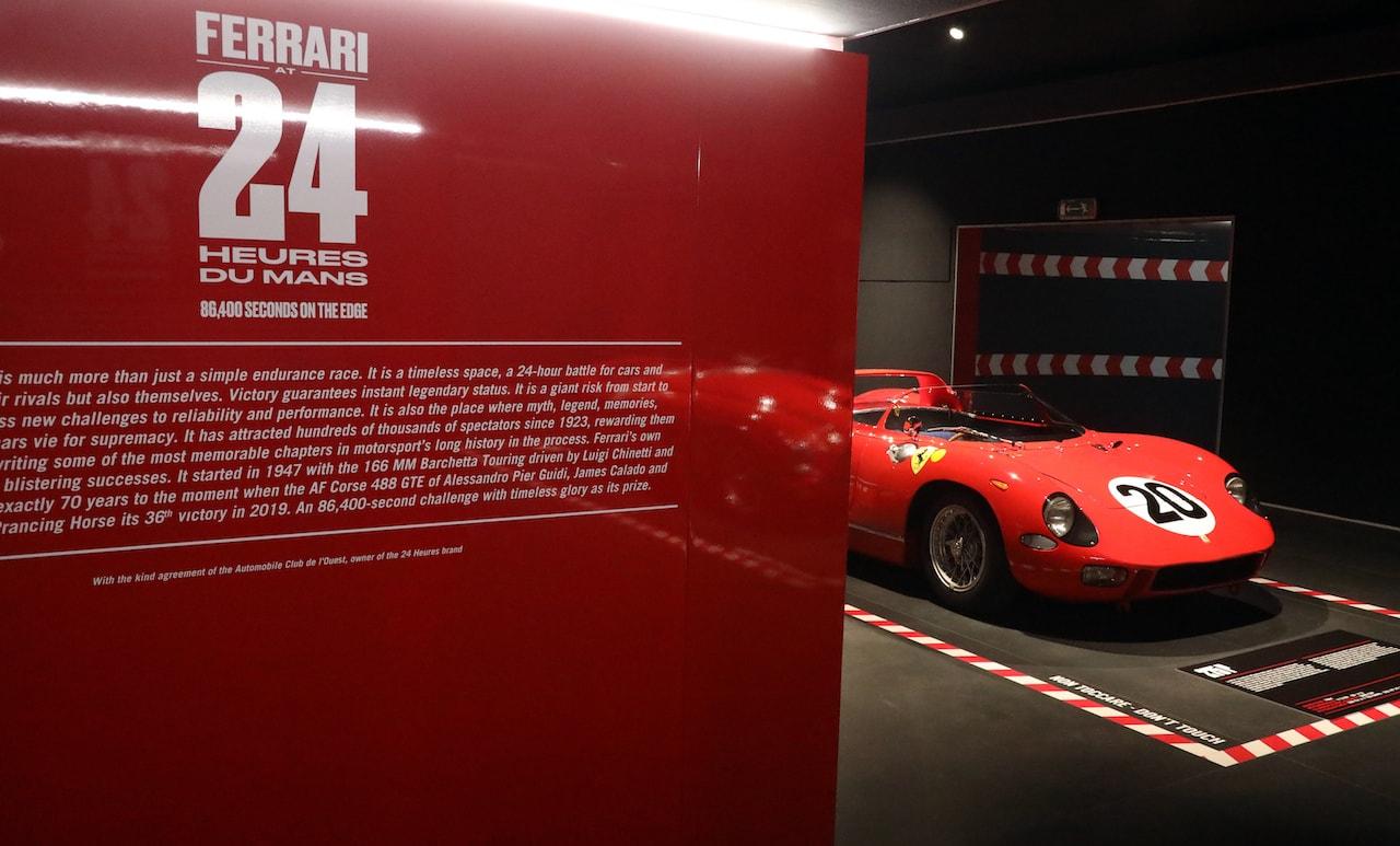 フェラーリのル・マンを追体験! フェラーリ・ミュージアムがル・マン特別展を開催中