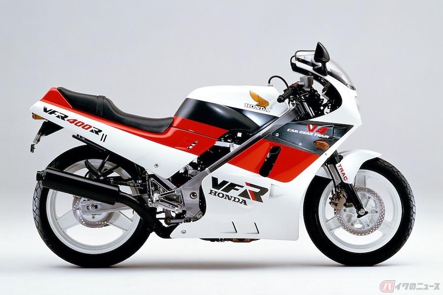 4サイクルレーサーレプリカの世界に一石を投じたスーパースポーツ「ホンダVFR400R」