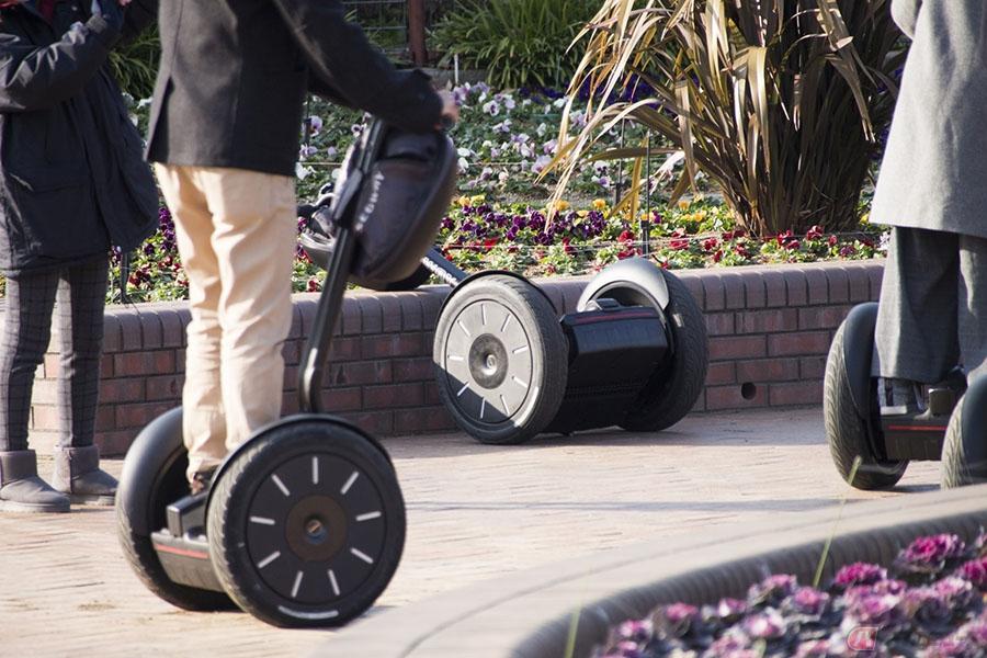 セグウェイが電動バイク「Apex」発表 謎に包まれた新プロジェクト