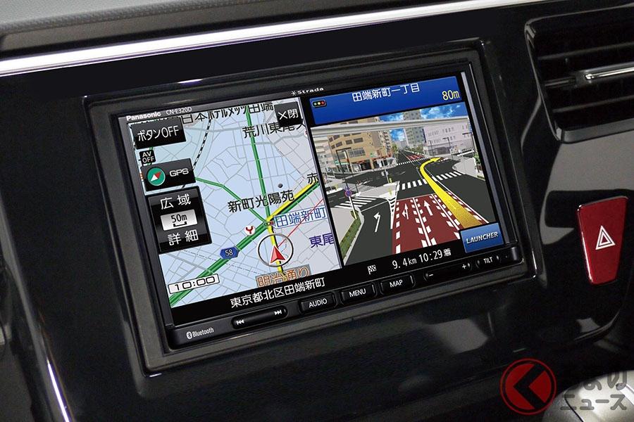 2020年度最新地図搭載のベーシックモデル 新型「ストラーダ」をパナソニックが発表