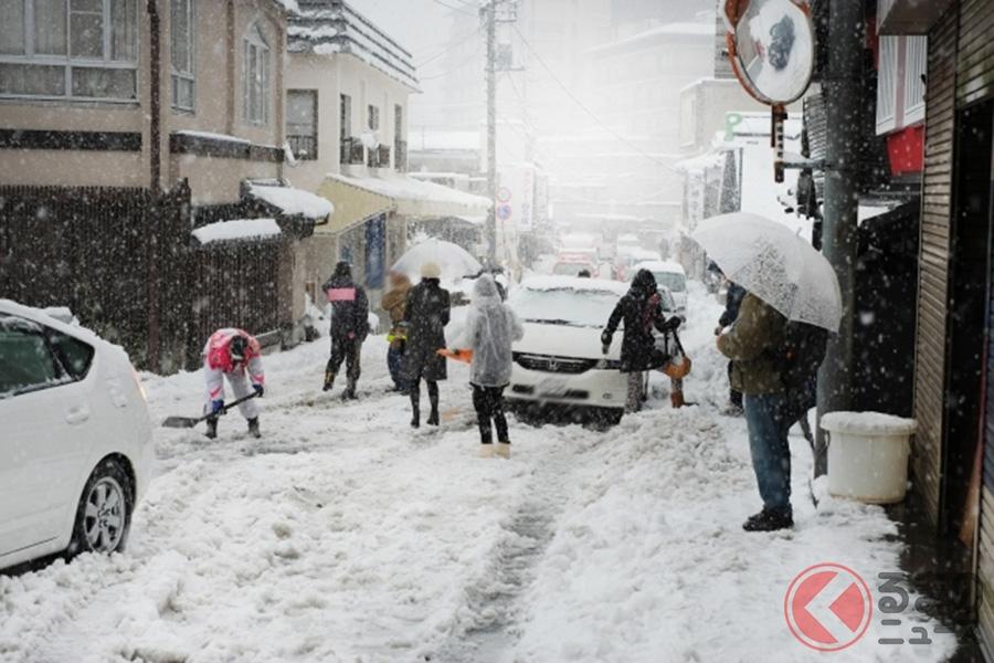 降雪時に注意! 突然の雪でも焦らないための対処法