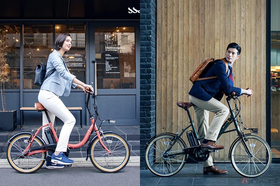 ヤマハのコンパクトな20型電動アシスト自転車「PAS CITY-C」「PAS CITY-X」2020年モデル登場