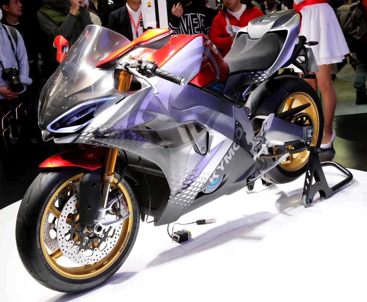 キムコが市販化を見据えた電動スポーツバイク「RevoNEX」を発表!【EICMA 2019速報!】