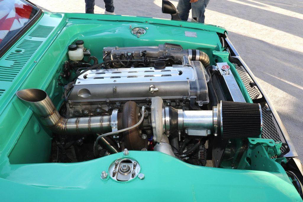 「2JZ換装&レフトハンダーのハコスカ改!」プッシュロッドサスまで組み込んだネオ旧車チューンド【SEMA SHOW2019】