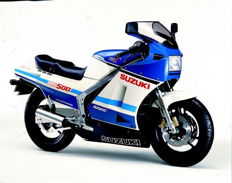 RG500Γ、NS400Rなどのフルカウルスポーツバイクが続々登場!【日本バイク100年史 Vol.035】(1985年)<Webアルバム>