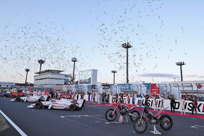 ホンダサンクスデーには1万7500名が来場。世界選手権への参戦60周年となった2019年を締めくくる