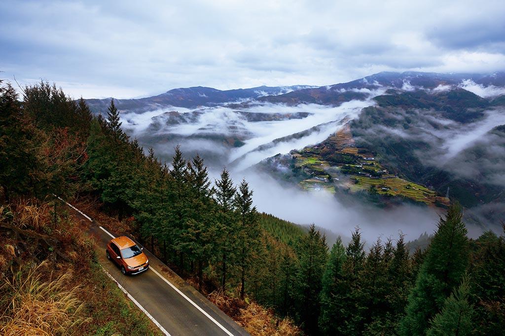 平家伝説が息づく山里の美しい棚田に雲が湧き上がる(宮崎県 仙人の棚田)【雲海ドライブ&スポット Spot 88】